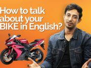 How to speak in English about your MOTORBIKE?