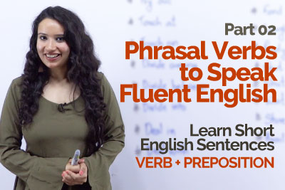 English lessons in Hindi to learn Phrasal verbs