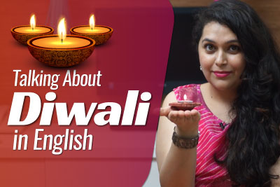 English Lesson in Hindi - Talking about Diwali
