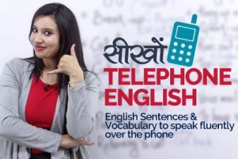 Telephone English – English Conversation Lesson