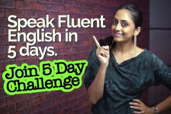 How to speak Fluent English in 5 days | Learn 1 Easy Trick for speaking fluently | Meera