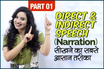 Direct Indirect Speech (Narration) – Reported speech Grammar Rules in Hindi