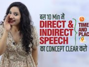 Direct Indirect Speech | Narration In Hindi | Reported Speech Rules | English Grammar in Hindi