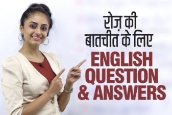 Question & Answers For Daily English Conversations