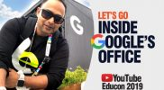 What's Inside Google's  Office? | YouTube EduCon 2019 Tour | Learn English With Aakash