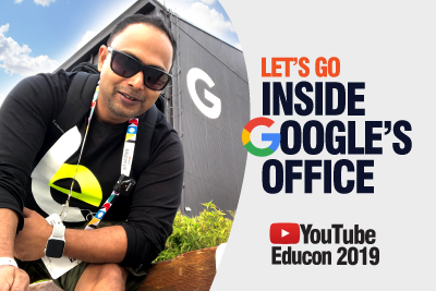 What's Inside Google's Office? | YouTube EduCon 2019 Tour | Learn English With Aakash | Learnex