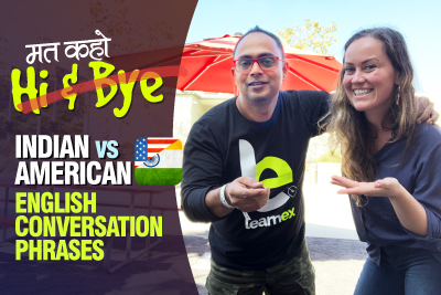 Indian English vs American English Differences | Common Conversation Phrases | Greetings in English | Learn English Through Hindi