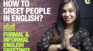 Formal & Informal Greetings in English | Basic English Speaking Practice Lesson for beginners