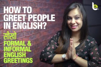 Formal & Informal Greetings in English   Basic English Speaking Practice Lesson for beginners