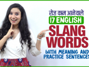 सीखो English के Slang Words With Meanings And Practice Sentences