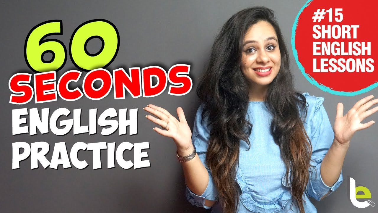 English Speaking Practice In 60 SECONDS For Daily Conversation | Short One Min English Lessons (Deleted From TikTok)