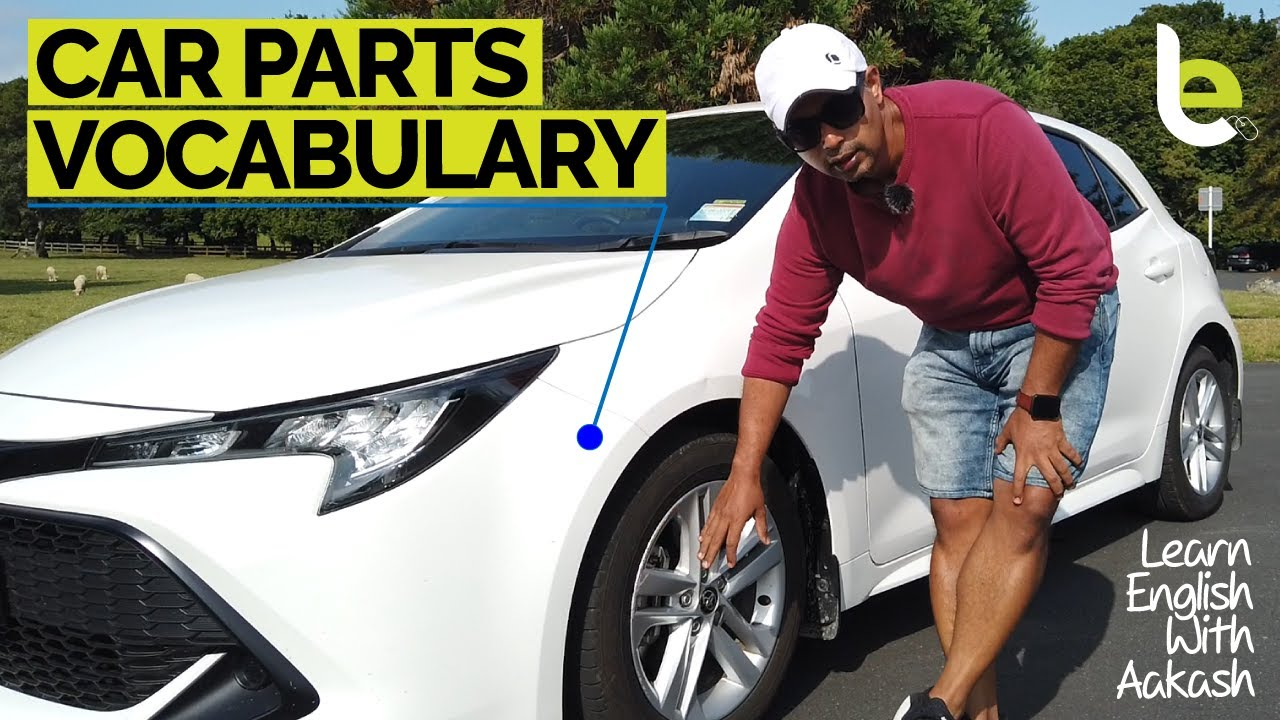 ✅ Car Parts Vocabulary 🚘 For Beginners In English