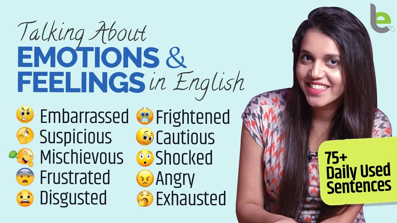 75 Daily Used English Speaking Sentences For Emotions & Feelings