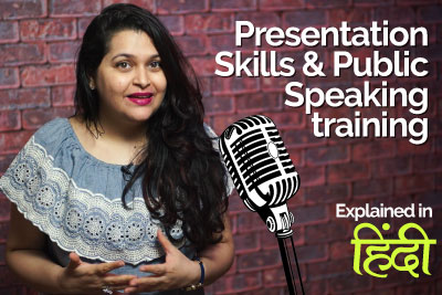 Presentation skills & Public speaking training in Hindi for personality development